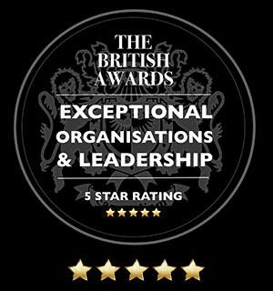 The British Awards - 5 Star Rating